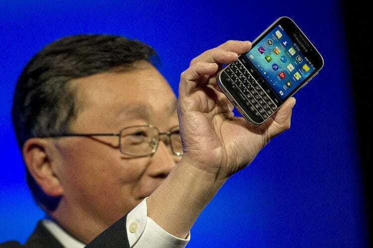 BlackBerry Launches New Phone 'The Classic'