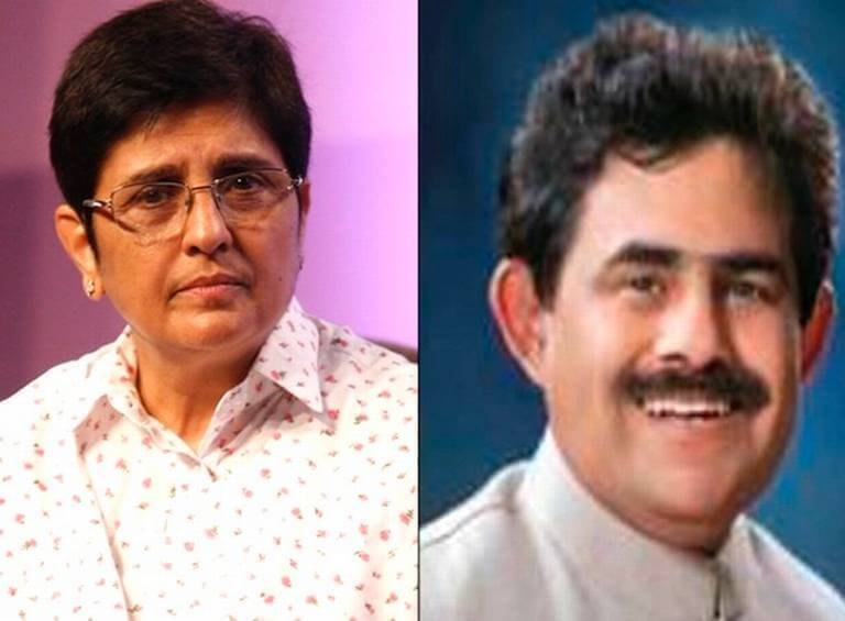 kiran bedi and Narendra Tandon