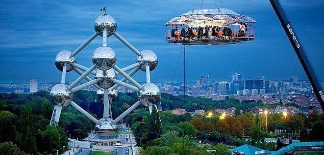 Brussels- Based Dinner in the Sky