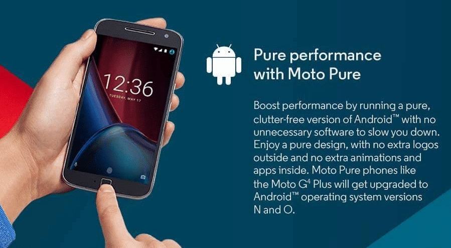 In the last week, Motorola has published the list of smartphones that will get the Android 8.0 Oreo OS update on the company's official blog. Unfortunately, the Moto G4 series smartphones are not in the list which is lit bit strange. Before 18 months ago, when the company launched the Motorola Moto G4, Moto G4 Plus and  Moto G4 Play smartphone, it confirmed in May 2016 that the Moto G4 Plus will be receiving the Android O update.  In the promotional materials, there was clearly mentioned that the Moto G4 Plus will be upgraded to Android Operating System N(Nougat) and O (Oreo). But it was removed by the company from the marketing materials. Now the company is confirmed that the Moto G4 Plus will be upgraded to the Android 8.0 Oreo. But the Moto G4 Plus is the only smartphone in the Moto G4 series that will be recieving the Android Oreo update.  Today, Motorola says that The Android Oreo update for the Moto G4 Plus was not planned. There is no official confirmed a date for the Android 8.0 Oreo OS update for the phone. The Motorola will publish the details on the company's software update page when it will release the Android Oreo update for the device.  All the Motorola Moto G4 series smartphones run on Android 6.0 Marshmallow operating system, the company already updated them to Android 7.0 Nougat operating system. The Moto G4 Plus is the only member of the Moto G4 family that will be updated to Android 8.0 Oreo Update. Here's Motorola's full official statement on the matter: