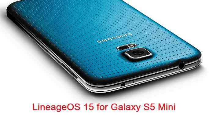Install Android Oreo on Galaxy S5 Mini G800F based on LineageOS 15