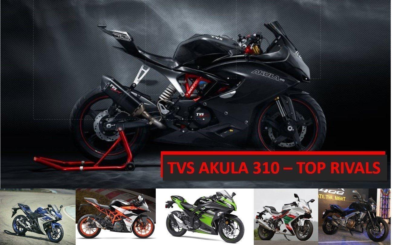 TVS Akula rivals