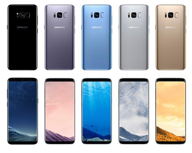 Samsung Galaxy S8 Plsu 3
