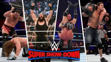 Photo of WWE Super ShowDown Results, October 6th 2018; latest Super ShowDown winners, video highlights