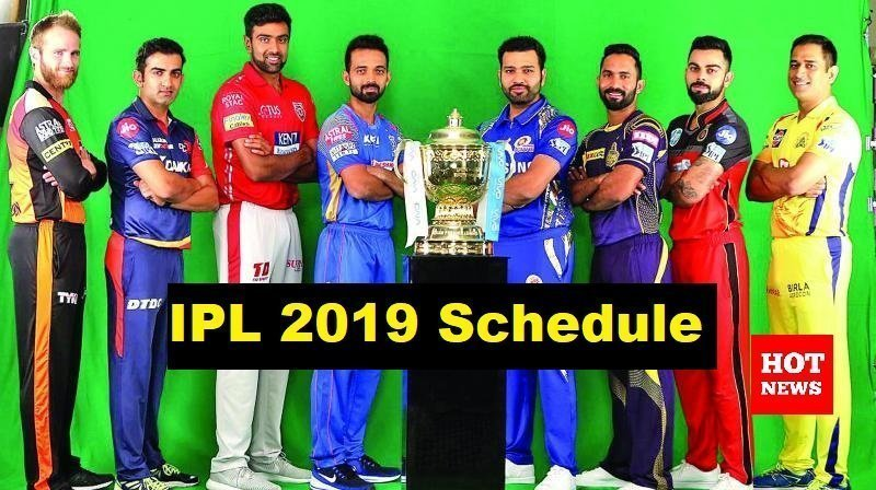 Photo of IPL 2019 Schedule, TimeTable, Date, Venue first match will be played between CSK v RCB
