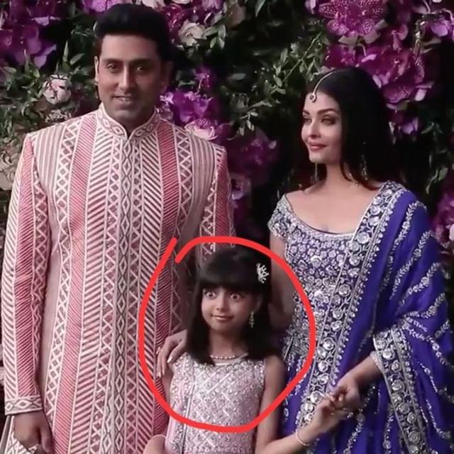 Photo of 'Bas Karo' : Says Aaradhya Bachchan to Paparazzi at Akash Ambani's Reception.