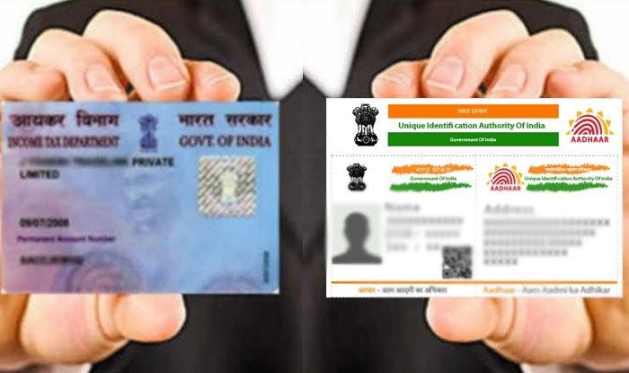 link PAN with Aadhaar
