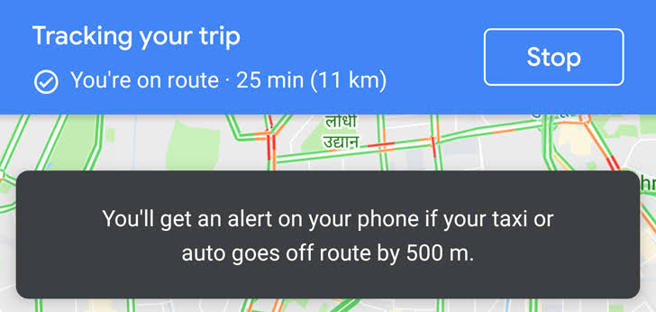 Photo of Google Maps updates 'Stay Safer' feature: Notify Users if Cabs divert their routes