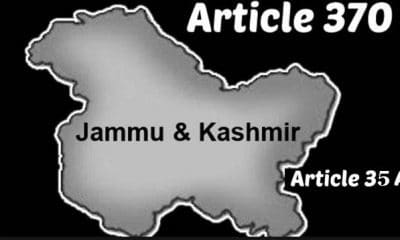 Article 370 and 35(A) scrapped