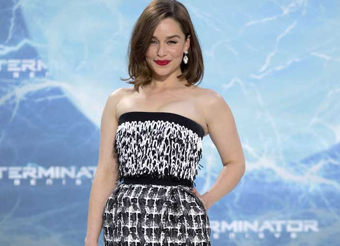 "Photo of Emilia Clarke: Game Of Thrones' explicit scenes were ""terrifying"""
