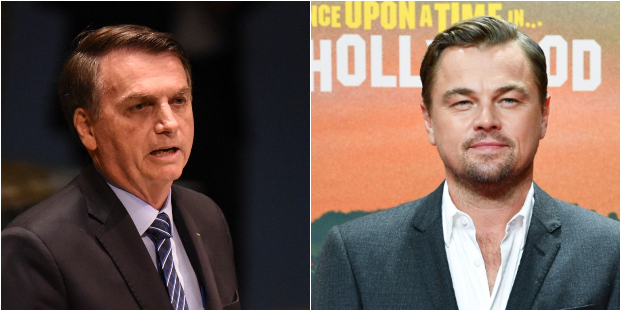 Brazilian President Jair Bolsonaro Blames Leonardo DiCaprio For Amazon Fires, DiCaprio Hits Back