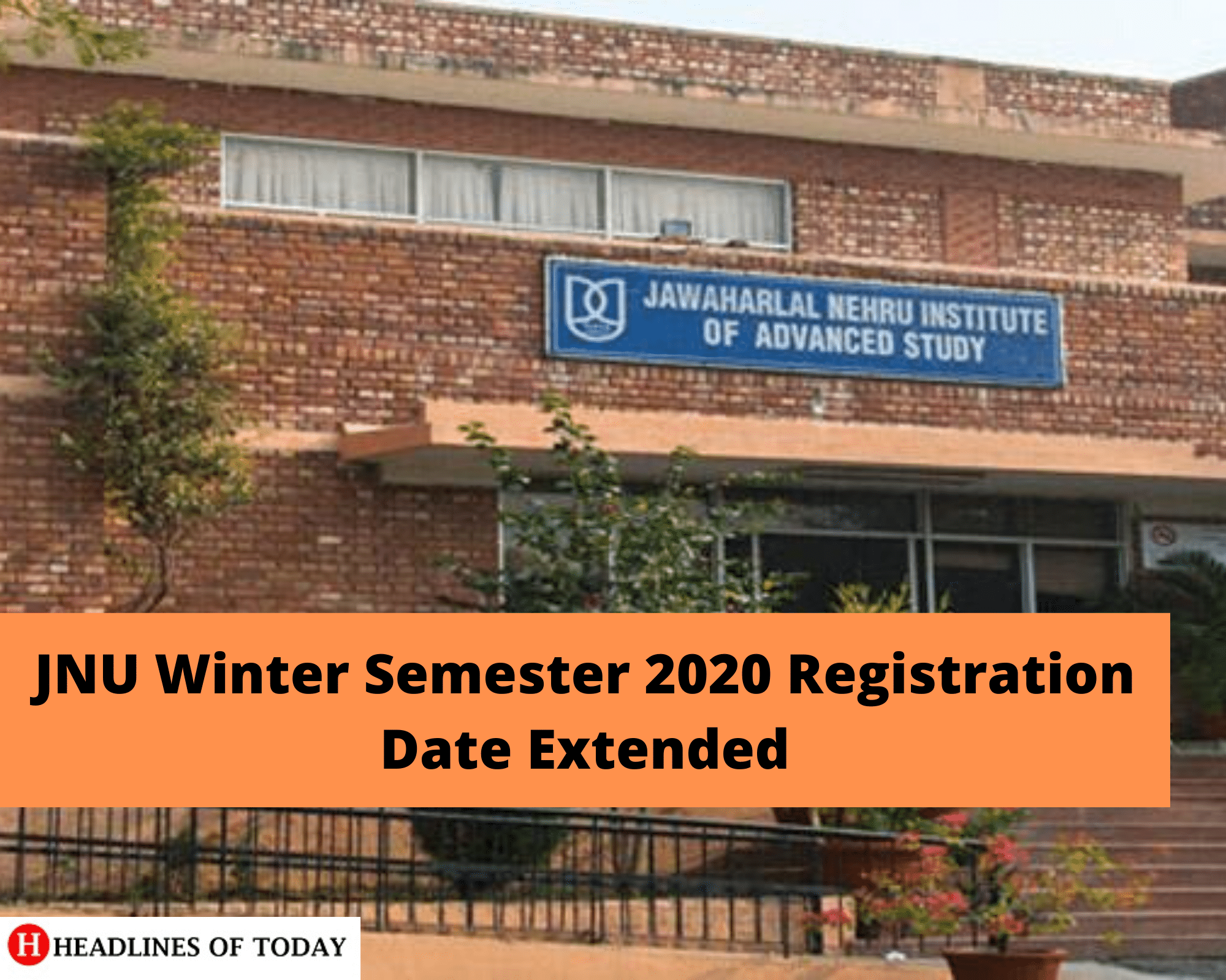 JNU Winter Semester 2020