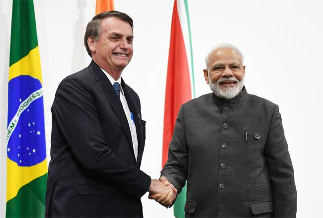 India signed 15 MoU with Brazil