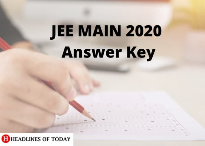 Photo of JEE MAIN 2020 Answer Key Released By Resonance