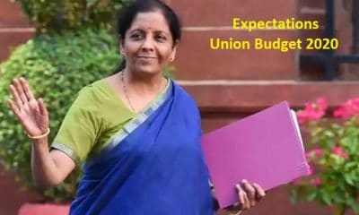 Expectations from Union Budget 2020
