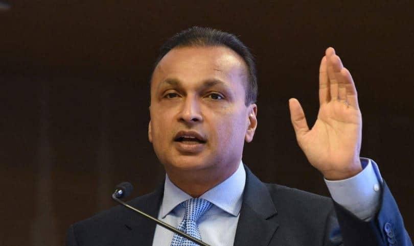 Anil Ambani will pay $100 million to Chinese banks