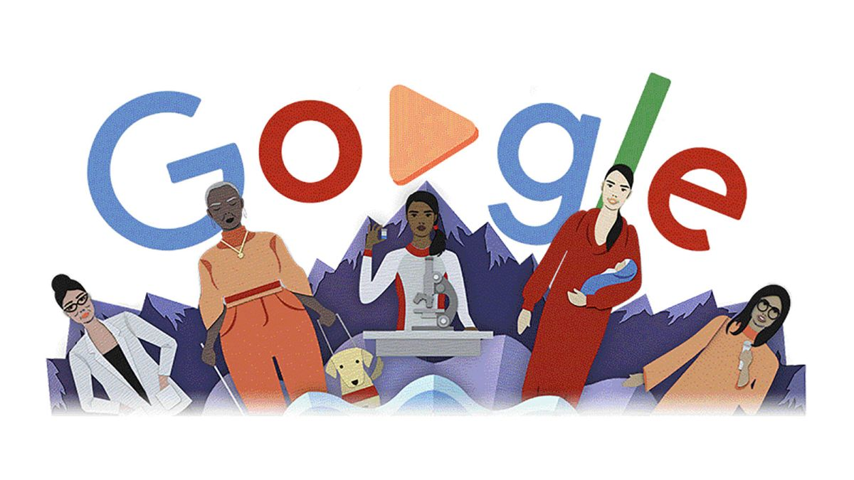 Photo of March 8 : Lets celebrate International Women's Day with Google doodle