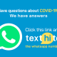 WHO dispatches wellbeing alert on WhatsApp over COVID-19 pandemic