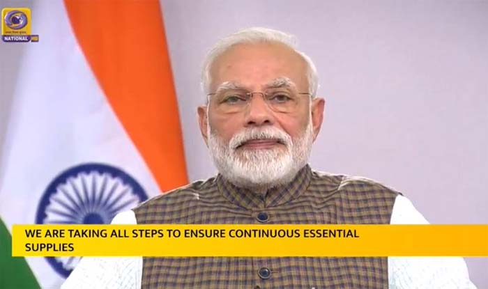 Photo of No need to panic, dear countrymen, essential goods and medicines will be available: PM Modi
