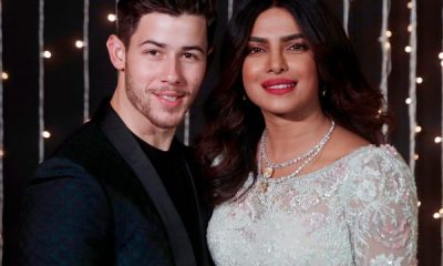 Actor Priyanka Chopra, her husband Nick Jonas