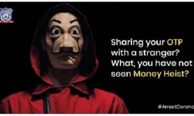 Bengaluru Police Spreads Cyber Fraud Awareness With 'Money Heist' Meme