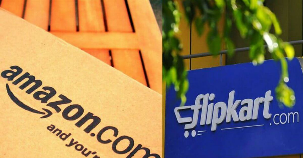 Operation of Amazon and Flipkart In India is  Still Disrupted.