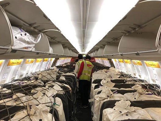 Spicejet started cargo on flights seat to take necessary during Covid-19