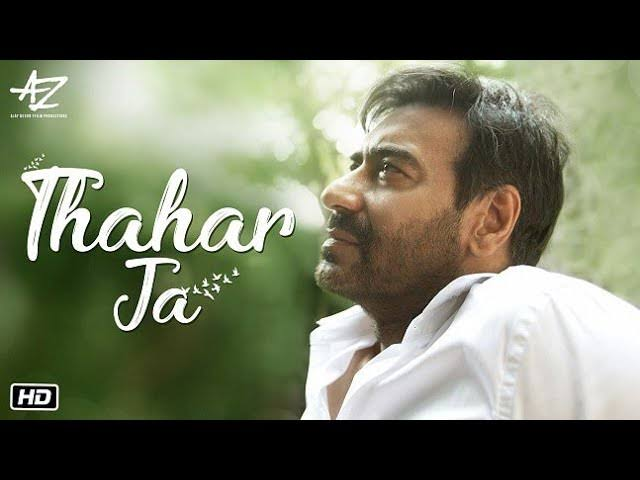 Photo of An urge to slow down and stay at home; Ajay Devgn presents 'Thahar Ja'