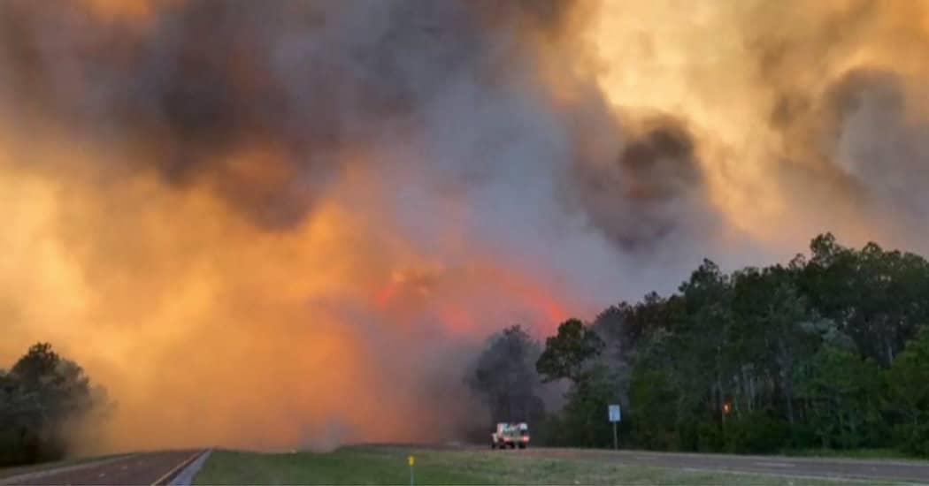 Florida: Wildfires
