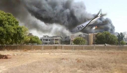 Photo of Plane crash updates: PIA flight got crashed a few kilometres from the airport