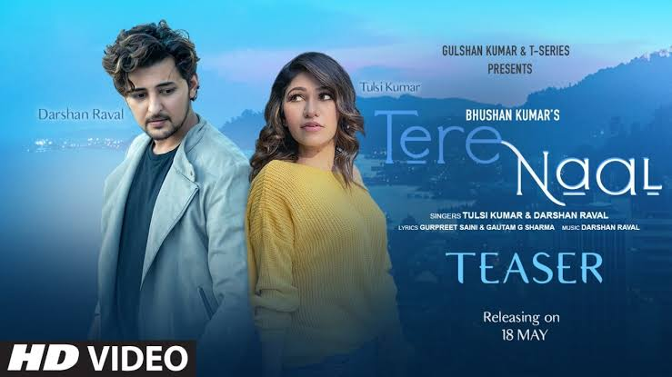 Photo of Catch Tulsi Kumar and Darshan Raval romantic duo in 'Tere Naal'