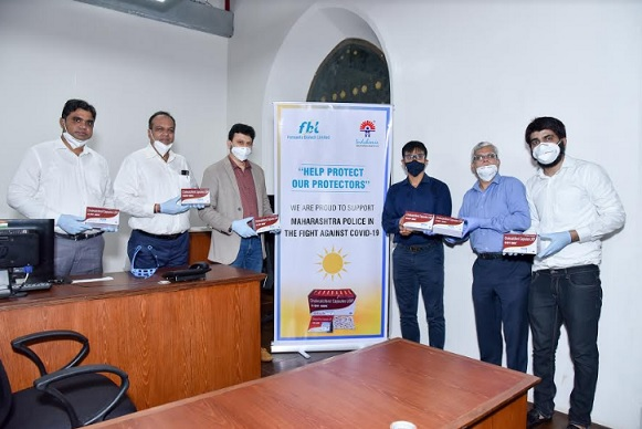 Photo of Fermenta Biotech Limited & Indchemie Health Specialities Pledge Vitamin D3 to 250,000 Maharashtra Police Personnel for 2 Months