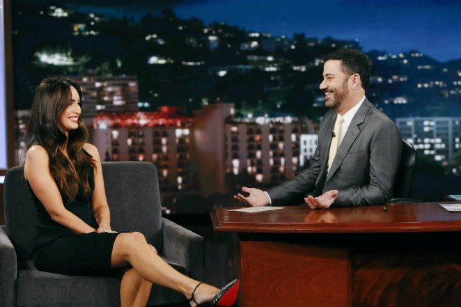 Photo of Jimmy Kimmel faces criticism over inappropriate comments made in an interview with Megan Fox