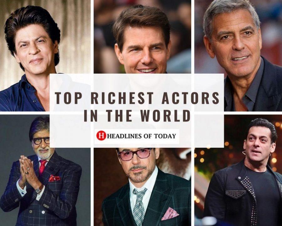 Richest Actor In The World