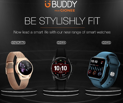 Photo of Gionee comebacks to market with three new Smart Life Watch, starting for Rs. 2499