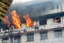 Photo of  Fire in a shopping center in Borivali; 14 fire brigades arrived