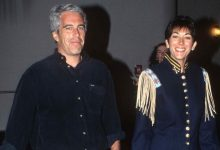 Photo of Ghislaine Maxwell arrested by FBI for helping Jeffrey Epstein, convicted pedophile, recruit minors