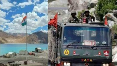 Photo of India-China forces clash on southern side of Pangong Lake