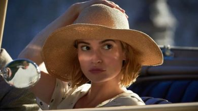 Photo of Rebecca Netflix film, from the producers of Atonement.